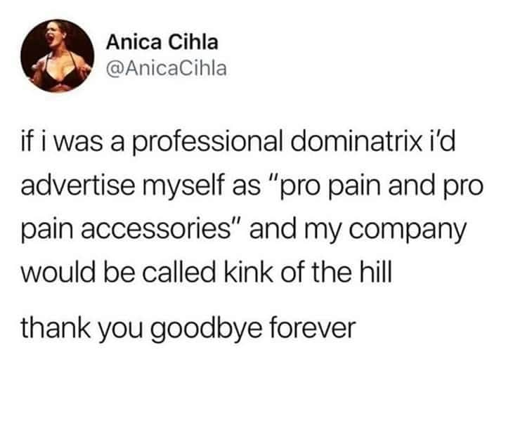kink of the hill