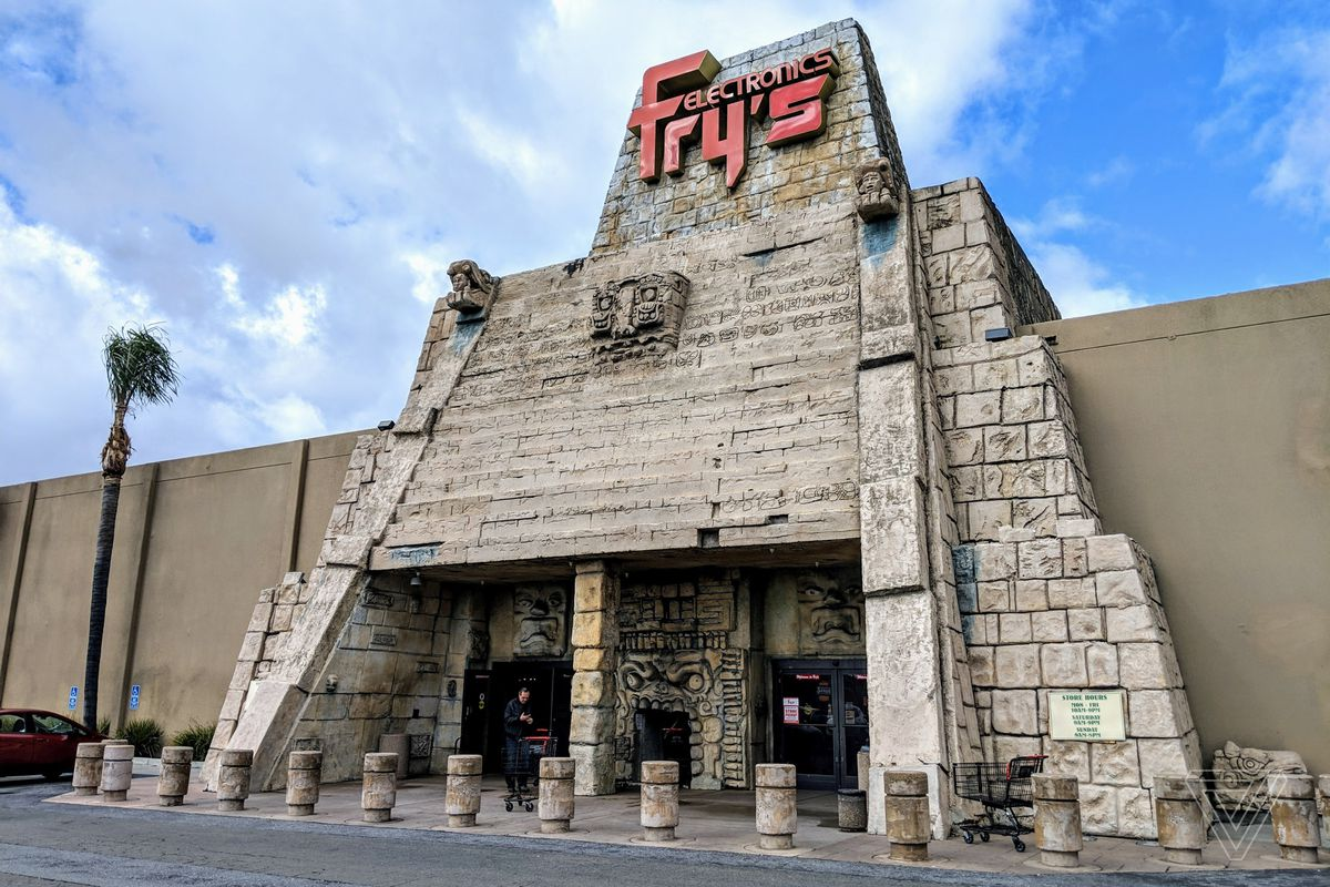a fry's store