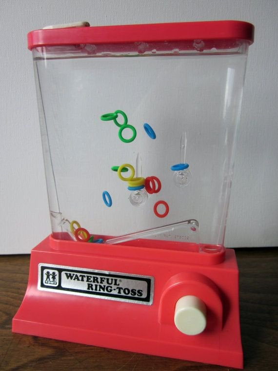 old ring toss game!